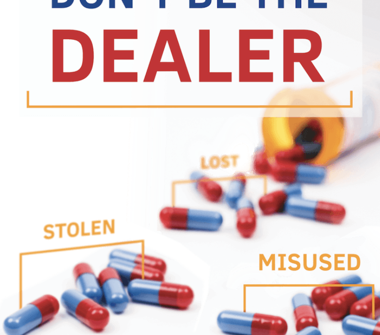 April 28 — DEA's Take Back Day, Opportunity for Americans to Prevent Drug Misuse & Deaths